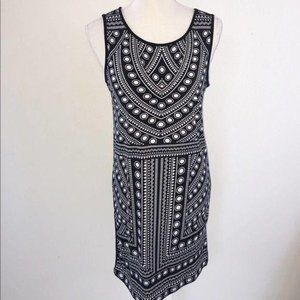 Banana  Geometric Dress on the front Size S